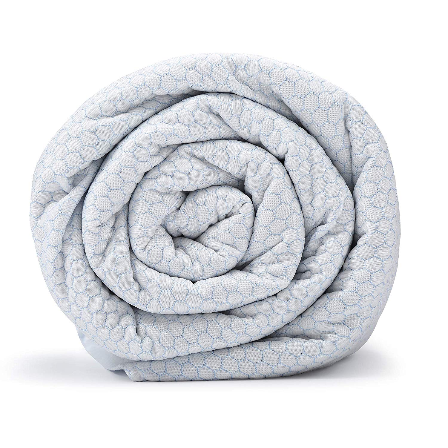 Blanquil Chill Cooling Weighted Blanket White Frost 15lb